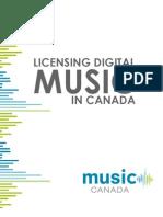 Licensing Digital Music in Canada