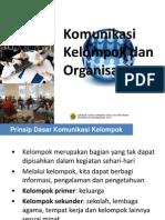 5. Komunikasi Kelompok & Organisasi
