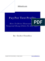 Pay Per Text Profit