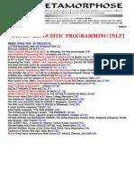 101599373 Neuro Linguistic Programming