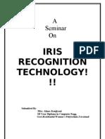 Iris Scanning Report