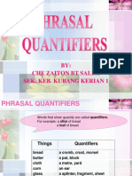 phrasal quantifiers