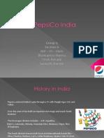 Pepsi Co India Strategy
