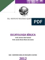ESCATOLOGIA BIBLICA - 2012
