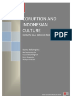 48892301 Coruption and Indonesian Culture