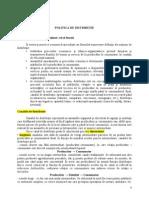 Seminar 6 Politica de Distributie