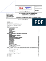 Project Standards and Specifications Solid Waste Treatment Systems Rev01