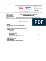 Project Standards and Specifications Submarine Pipelines Design Rev01