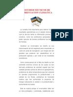 Estudios Tecnicos de Ambientacion Climatica