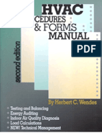HVAC Procedures Forms Manual