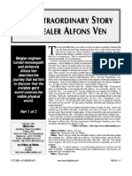 The Extraordinary Story of Healer Alfons Ven pt1