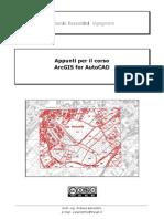 Estratto Corso CAD+GIS - Esercitazioni