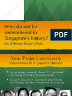 Sec 2 History Project Briefing