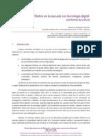 FERNÁNDEZ TROIANO - Plástica y tecnologia digital