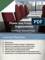 16 Power Politics in Business Organization