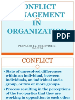 13 Conflict Management in Organization