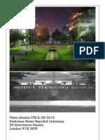 Booklet Temu Alumni ITB Di UK