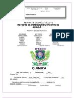 REPORTE DE PRÁCTICA 2 QUÍMICA ORGÁNICA 2