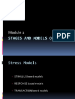 Stages and Models of Stress