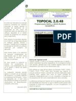 Instalacion Topocal