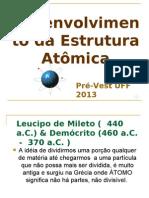 História do átomo e sua estrutura