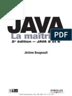Livre Java La Maitrise