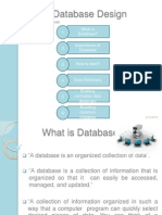 Database analysis and normalization