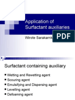 28010526 Textile Auxiliaries Surfactant Auxiliaries