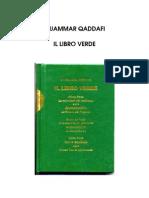Il libro verde di Muammar Gheddafi