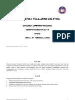 Dokumen Standard Prestasi k.manipulatif Ld Tahun 1