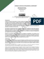 Evaluación de aprendizaje en entornos en línea abiertos y distribuidos