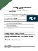 DearColorPantz Markteing Plan