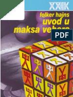 Folker Hajns, Uvod u Maksa Webera