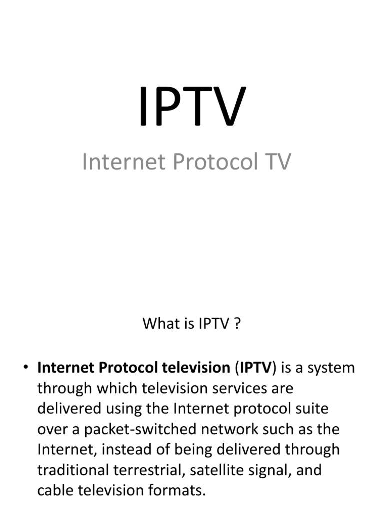 Iptv Streaming Media Wiring Diagram