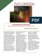 Creatividad y Creación en Las Empresas y Organizaciones