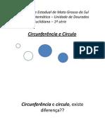 Apresentao Circunferncia e Crculo [Modo de Compatibilidade] (1)