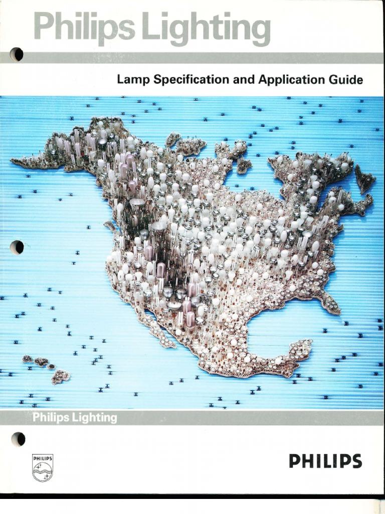 Philips Lighting 1991 L& Specification Guide | Lighting | Incandescent Light Bulb  sc 1 st  Scribd & Philips Lighting 1991 Lamp Specification Guide | Lighting ... azcodes.com