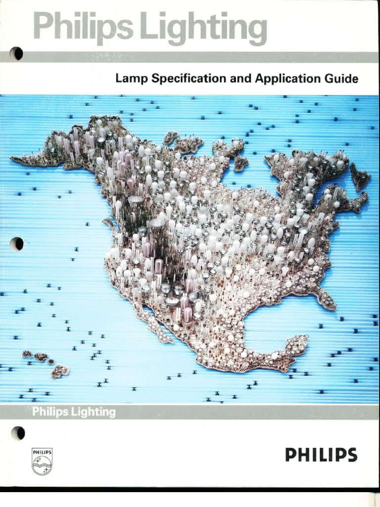 Philips Lighting 1991 Lamp Specification Guide | Lighting ...