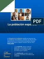 La población española (curso 2012-13)