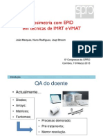 Dosimetria com EPID em técnicas de IMRT e VMAT [Compatibility Mode]