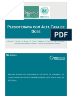 Plesioterapia Com Alta Taxa de Dose