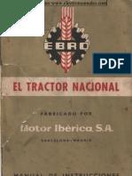 Ebro Tractor Nacional Manual Esp