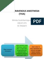 Total Intravenous Anesthesia (Tiva)
