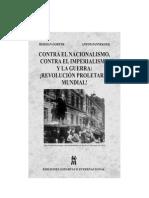 Gorter - Pannekoek - Contra El Nacionalismo, El Imperialismo y La Guerra