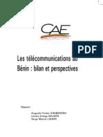 4.Les Telecommunications Au Benin Bilan Et Perspectives