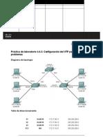 Practica de Laboratorio 4.4.3 Configuracion Del VTP Para Solucionar Problemas