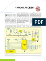 Secured Room Access ATMEGA 8535
