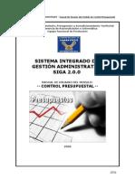 Manual Control Presupuestal