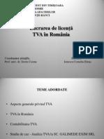 Ionescu Cornelia-TVA in Romania