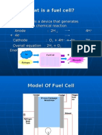 Fuel Cell in Space Applications